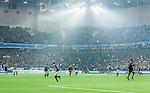 Stockholm 2014-04-16 Fotboll Allsvenskan Djurg&aring;rdens IF - AIK :  <br /> Vy &ouml;ver Tele2 Arena under den f&ouml;rsta halvleken mellan Djurg&aring;rden och AIK <br /> (Foto: Kenta J&ouml;nsson) Nyckelord:  Djurg&aring;rden DIF Tele2 Arena AIK supporter fans publik supporters inomhus interi&ouml;r interior