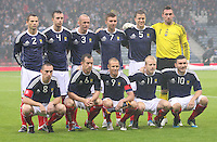 Scotland v Denmark Friendly 100811