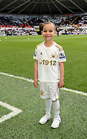 Pictured: Children Mascots.<br />