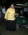 Opera legend Jessye Norman attending the Gala Opening Night Premiere of the Public Theater's production of MOTHER COURAGE AND HER CHILDREN at the Delacorte Theatre in Central Park with an after party at The Belvedere Castle in New York City. August 21, 2006.