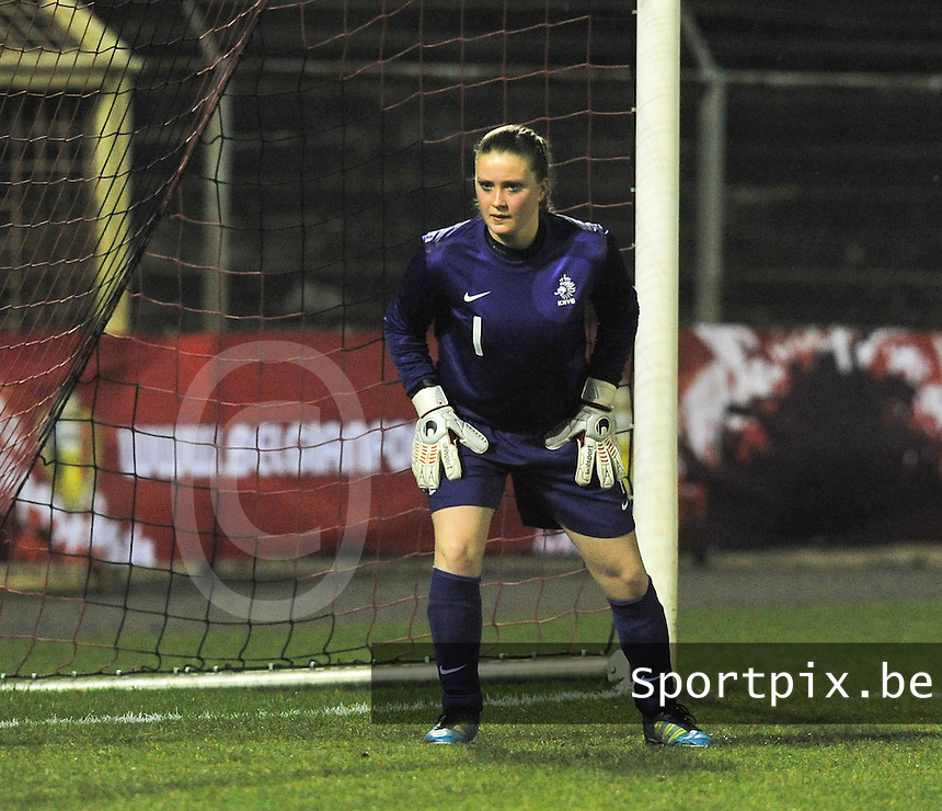 U17  Netherlands - U17 Germany : Kelly Steen.foto DAVID CATRY / Vrouwenteam.be