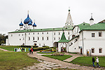 The Kremlin on Saturday, August 24, 2013 in Suzdal, Russia.