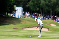 Richard Green (AUS) on the 13th during round 3 of the 2016 BMW PGA Championship. Wentworth Golf Club, Virginia Water, Surrey, UK. 28/05/2016.<br /> Picture Fran Caffrey / Golffile.ie<br /> <br /> All photo usage must carry mandatory copyright credit (© Golffile   Fran Caffrey)