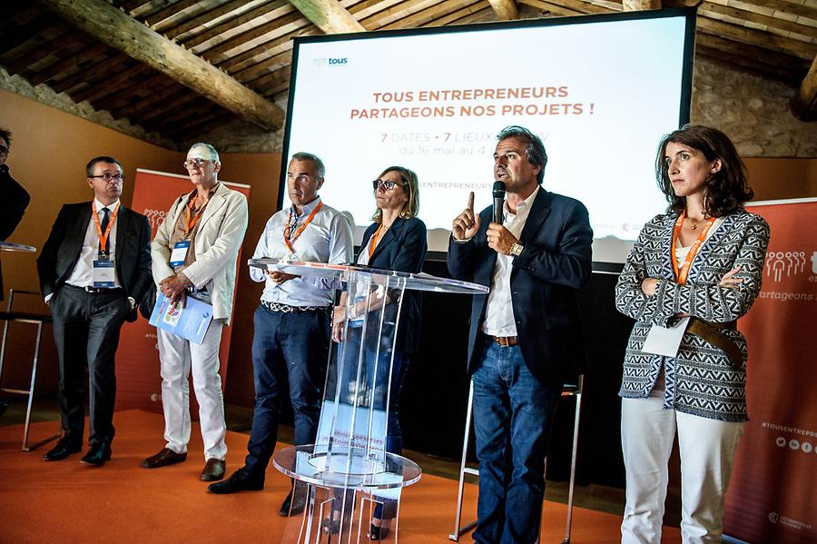 """""""Tous Entrepreneurs"""" - Tournée CCIMP - Etape Salon - Visite Commerces centre ville + Networking domaine Château Virant  - 7 juin 2017"""