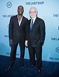 WASHINGTON, DC - JUNE 4: Actor Charles Purnell and journalist Wolf Blitzer attends The Last Ship premiere screening, a partnership between TNT and the U.S. Navy on June 4, 2014 in Washington, D.C. Photo Credit: Morris Melvin / Retna Ltd.