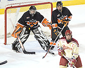 Eric Leroux, Brian Carthas (Gabe Gauthier) - The Princeton University Tigers defeated the University of Denver Pioneers 4-1 in their first game of the Denver Cup on Friday, December 30, 2005 at Magness Arena in Denver, CO.