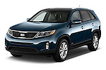 Front three quarter view of a 2014 KIA Sorento EX2014 KIA Sorento EX