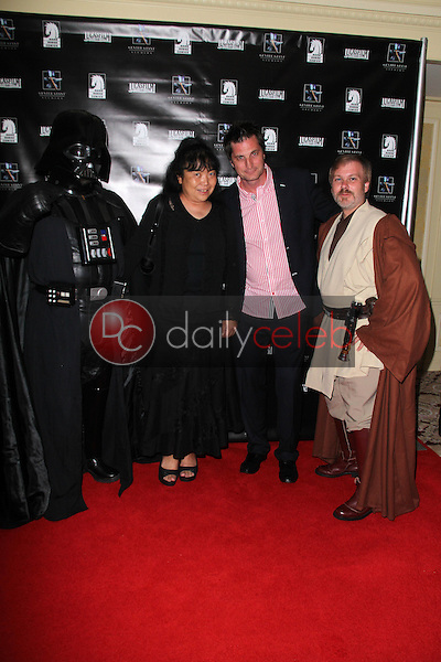 Mark Waelti and guests<br /> at the Lucasfilm Fashion Show at Comic-Con 2011, Westgate Hotel, San Diego, CA. 07-23-11<br /> David Edwards/DailyCeleb.com 818-249-4998