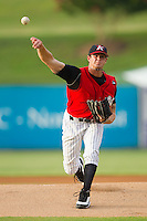 Starting pitcher Ryan Buch #9 of the Kannapolis Intimidators in action against the Hickory Crawdads at Fieldcrest Cannon Stadium August 18, 2010, in Kannapolis, North Carolina.  Photo by Brian Westerholt / Four Seam Images