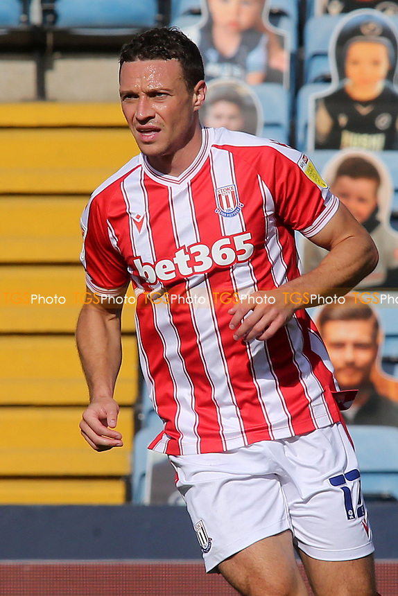 James Chester of Stoke City and Wales during Millwall vs Stoke City, Sky Bet EFL Championship Football at The Den on 12th September 2020