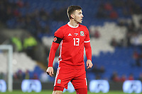 Lee Evans of Wales during the International Friendly match between Wales and Panama at The Cardiff City Stadium, Wales, UK. Tuesday 14 November 2017