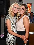 Gina Donovan celebrating her 21st birthday in Brú with best friend Stephanie Plunkett.  Photo:Colin Bell/pressphotos.ie