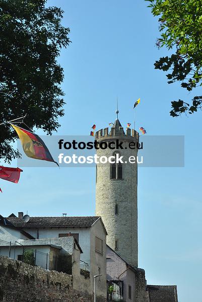 Uhrturm (Zollturm, Weißer Turm), Oppenheim