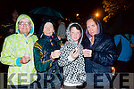 Christina Mulligan, Philomena Duggan, Joshua Roche and Sharon Roche at  the  candlelight vigil for  Suicide  in Pearse Park on Thursday