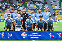 ARMENIA, COLOMBIA - JANUARY 19: Uruguay players pose for a picture during their CONMEBOL Pre-Olympic soccer game against Paraguay at Centenario Stadium on January 19, 2020 in Armenia, Colombia. (Photo by Daniel Munoz/VIEW press/Getty Images)