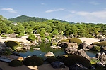 Photo shows the Japanese garden at the Adachi Museum of Art in Yasugi, Shimane Prefecture, Japan..Photographer: Robert Gilhooly