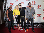 Apl.de.ap, Fergie, Taboo, and will.i.am of The Black Eyed Peas at the 2011 iHeartRadio Music Festival on September 23, 2011 at the MGM Garden Arena in Las Vegas, Nevada.