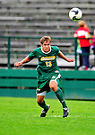 12 September 2010: University of Vermont Catamount defender/midfielder Seth Rebeor, a Sophomore from Fairfax, VT, in action against the Cornell University Big Red at Centennial Field in Burlington, Vermont. The Catamounts defeated the Big Red 2-1. Mandatory Credit: Ed Wolfstein Photo