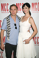 June 14 , 2012 Brian Geraghty and Krysten Ritter attend the MCC Theater's benefit reading of The Heart Of The Matter afterparty  at the Ramscale in New York City. &copy; RW/MediaPunch Inc. NORTEPHOTO.COM<br />
