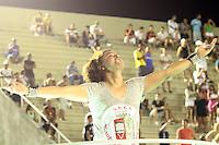 RIO DE JANEIRO,22 DE  JANEIRO DE 2012 -  ENSAIO T&Eacute;CNICO DA ACAD&Ecirc;MICOS GRANDE  RIO  - Ensaio t&eacute;cnico na  capital fluminense , Rio de Janeiro.<br /> Na Foto: David Brasil <br /> Local : Samb&oacute;dramo <br /> Foto : Guto Maia / News Free