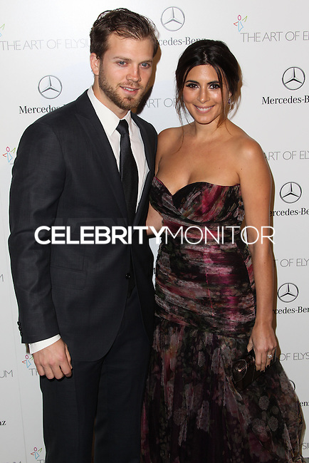 LOS ANGELES, CA - JANUARY 11: Cutter Dykstra, Jamie Lynn Sigler at The Art of Elysium's 7th Annual Heaven Gala held at Skirball Cultural Center on January 11, 2014 in Los Angeles, California. (Photo by Xavier Collin/Celebrity Monitor)