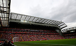 A general view inside the ground during the premier league match at Anfield Stadium, Liverpool. Picture date 27th August 2017. Picture credit should read: Paul Thomas/Sportimage