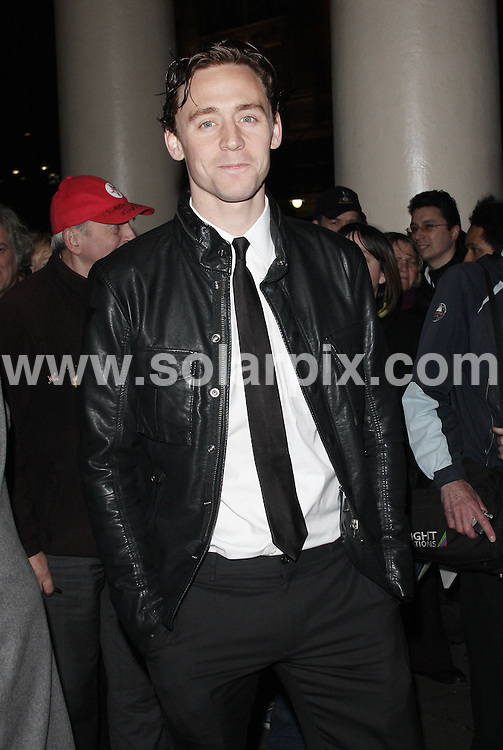 **ALL ROUND PICTURES FROM SOLARPIX.COM**                                             **WORLDWIDE SYNDICATION RIGHTS**                                                                                  Caption:  Arrivals for the Gala show of Terence Rattigan's Flare Path at the Theatre Royal Haymarket  in London UK                                                                            This pic: Tom Hiddleson                                                                                             JOB REF: 12948       LNJ       DATE:10.03.2011                                                            **MUST CREDIT SOLARPIX.COM OR DOUBLE FEE WILL BE CHARGED**                                                                      **MUST AGREE FEE BEFORE ONLINE USAGE**                               **CALL US ON: +34 952 811 768 or LOW RATE FROM UK 0844 617 7637**
