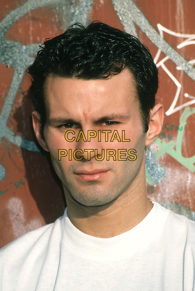 RYAN GIGGS.Ref: 947.manchester united, footballer, headshot, portrait.*RAW SCAN - photo will be adjusted for publication*.www.capitalpictures.com.sales@capitalpictures.com.© Capital Pictures