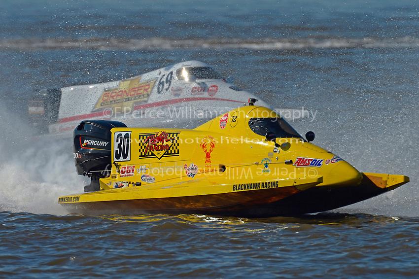 Robert Rinker (#30) and Jimmie Merleau (#69)           (Formula 1/F1/Champ class)