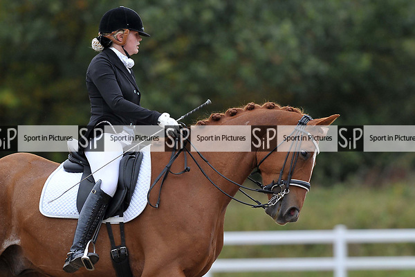 Class 7. Medium 75. British Dressage. Brook Farm training centre. Essex. 29/09/2017. MANDATORY Credit Garry Bowden/Sportinpictures - NO UNAUTHORISED USE - 07837 394578