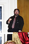 "Scott C. Sickles (writer for OLTL) & (artistic Director WorkShop) toasts the cast of Tartuffe - 1st preview January 13, 2011 of Moliere's ""Tartuffe"" from Jan. 13 to Jan 29 at the WorkShop Theatre, New York City, New York. (Photo by Sue Coflin/Max Photos)"