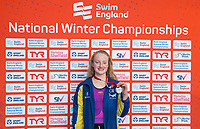 Picture by Allan McKenzie/SWpix.com - 17/12/2017 - Swimming - Swim England Nationals - Swim England National Championships - Ponds Forge International Sports Centre, Sheffield, England - Charlotte Robinson with silver in the womens 200m butterfly.