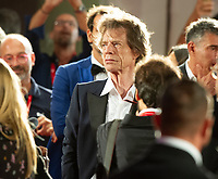 """VENICE, ITALY - SEPTEMBER 07: Mick Jagger at screening of """"The Burnt Orange Heresy"""" during the 76th Venice Film Festival at Sala Grande on September 07, 2019 in Venice, Italy. nice Film Festival at Sala Grande on September 07, 2019 in Venice, Italy. <br /> CAP/GOL<br /> ©GOL/Capital Pictures"""