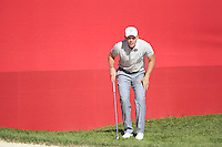 Danny Willett (ENG)(Team Europe) on the 9th during Saturday afternoon Fourball at the Ryder Cup, Hazeltine National Golf Club, Chaska, Minnesota, USA.  01/10/2016<br /> Picture: Golffile | Fran Caffrey<br /> <br /> <br /> All photo usage must carry mandatory copyright credit (&copy; Golffile | Fran Caffrey)
