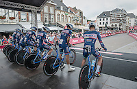 Team Wanty-Groupe Gobert at the start<br /> <br /> 12th Eneco Tour 2016 (UCI World Tour)<br /> stage 5 (TTT) Sittard-Sittard (20.9km) / The Netherlands