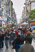 Rue Sainte Catherine. Bordeaux city, Aquitaine, Gironde, France