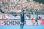 Krefeld, Germany, May 19: During the Final4 Gold Medal fieldhockey match between Uhlenhorst Muelheim and Mannheimer HC on May 19, 2019 at Gerd-Wellen Hockeyanlage in Krefeld, Germany. (worldsportpics Copyright Dirk Markgraf) *** Lukas Windfeder #6 of Uhlenhorst Muelheim