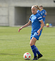 20180305 - LARNACA , CYPRUS : Finnish Emma Koivisto pictured during a women's soccer game between Finland and Italy , on monday 5 March 2018 at the AEK Arena in Larnaca , Cyprus . This is the third game in group A for Finland and Italy during the Cyprus Womens Cup , a prestigious women soccer tournament as a preparation on the World Cup 2019 qualification duels. PHOTO SPORTPIX.BE | DAVID CATRY