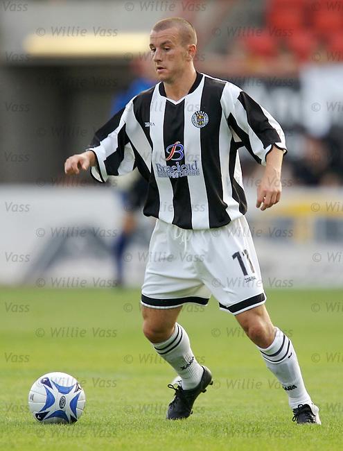 Alan Reid, St Mirren.stock season 2006-2007.pic willie vass