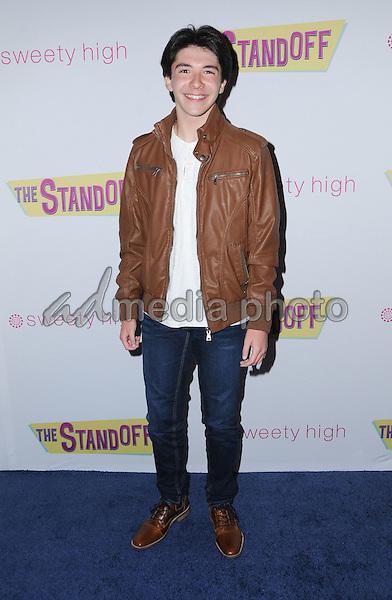 "08 September 2016 - Los Angeles, California. Sloane Morgan Siegel. ""The Standoff"" Los Angeles premiere held at Regal LA Live. Photo Credit: Birdie Thompson/AdMedia"