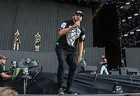Walshy Fire of MAJOR LAZER performs during The New Look Wireless Music Festival at Finsbury Park, London, England on Friday 03 July 2015. Photo by Andy Rowland.