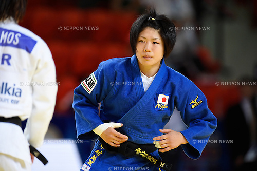 Misato Nakamura (JPN), AUGUST 25, 2015 - Judo : World Judo Championships Astana 2015 Women's -52kg 2nd round at Alau Ice Palace in Astana, Kazakhstan. (Photo by AFLO SPORT)