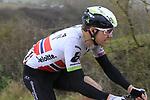 Edvald Boasson Hagen (NOR) Team Dimension Data on gravel sector 8 Monte Santa Maria during the 2017 Strade Bianche running 175km from Siena to Siena, Tuscany, Italy 4th March 2017.<br /> Picture: Eoin Clarke | Newsfile<br /> <br /> <br /> All photos usage must carry mandatory copyright credit (&copy; Newsfile | Eoin Clarke)