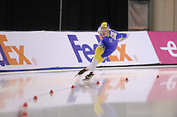 SCHAATSEN: SALT LAKE CITY: Utah Olympic Oval, 15-11-2013, Essent ISU World Cup, 1500m, David Andersson (SWE), ©foto Martin de Jong