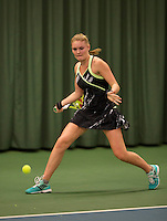 March 13, 2015, Netherlands, Rotterdam, TC Victoria, NOJK, Dewi Dijkman (NED)<br /> Photo: Tennisimages/Henk Koster