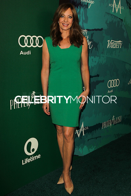 BEVERLY HILLS, CA, USA - OCTOBER 10: Allison Janney arrives at the 2014 Variety Power Of Women held at the Beverly Wilshire Four Seasons Hotel on October 10, 2014 in Beverly Hills, California, United States. (Photo by Celebrity Monitor)