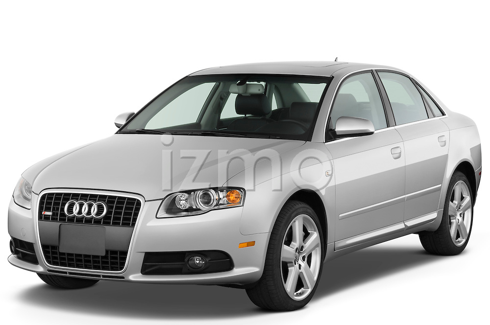 Front three quarter view of a 2005 - 2008 Audi A4 3.2 Sedan.