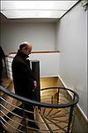 Alain Juppé en campagne pour les municipales 2008 / En visite au CEID Comité Etude Information Drogue / Maire de Bordeaux réélu le 14 mars 2008 / 33 Gironde / Rég. Aquitaine / Alain Juppé Mayor of Bordeaux / Aquitaine / France