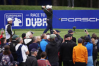 Xander Schauffele (USA) during the third round of the Porsche European Open , Green Eagle Golf Club, Hamburg, Germany. 07/09/2019<br /> Picture: Golffile   Phil Inglis<br /> <br /> <br /> All photo usage must carry mandatory copyright credit (© Golffile   Phil Inglis)