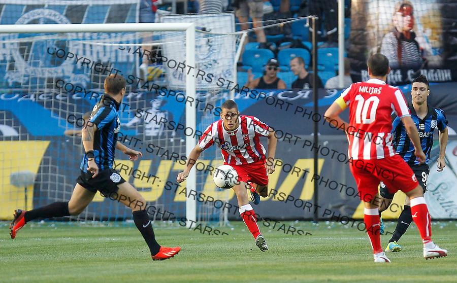 Fudbal UEFA Europa League season 2013-2014<br /> Cernomorec Vs. Crvena Zvezda<br /> Darko Lazic center<br /> Odessa, 02.08.2013.<br /> foto: Srdjan Stevanovic/Starsportphoto &copy;